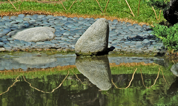 Lovely rock reflection.
