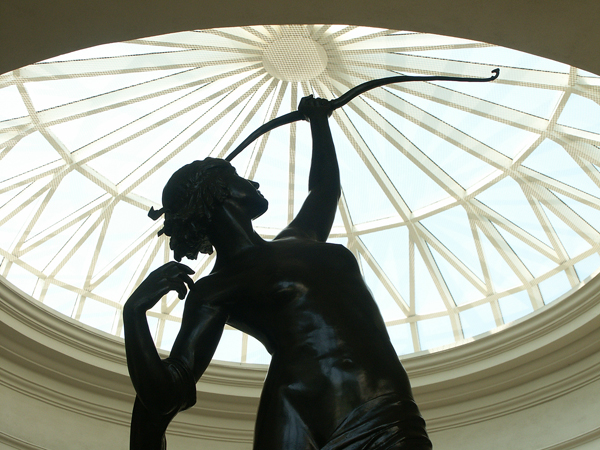 Statue of Diana, the Huntress.