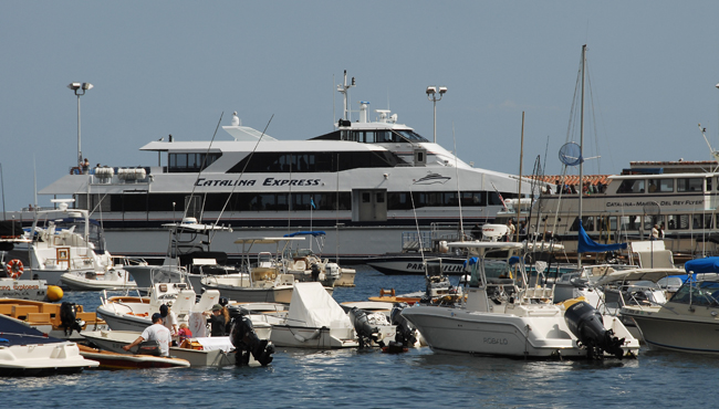 Catalina Express -- my means of getting to Catalina from Dana Point.