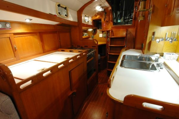 galley from salon