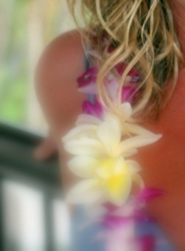 A hawaiian lei