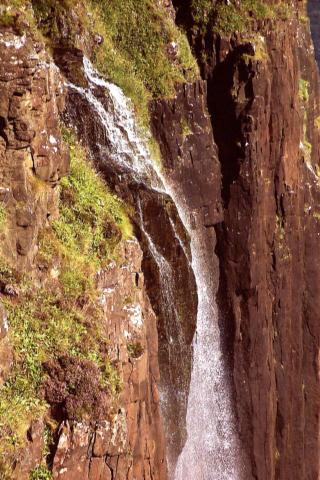 Waterfall near Storr