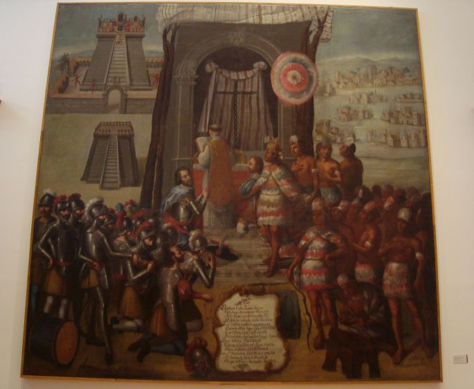 Templos paganos y la primera misa en México-Tenochtitlan