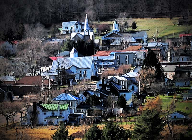 Small Town in Western Virginia