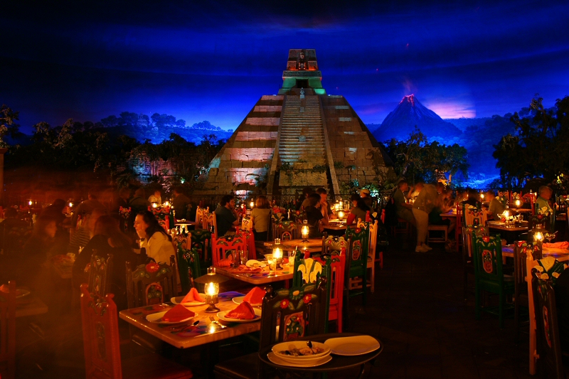 Mexico restaurant on the river
