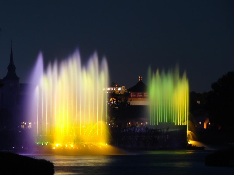 Illuminations fountains