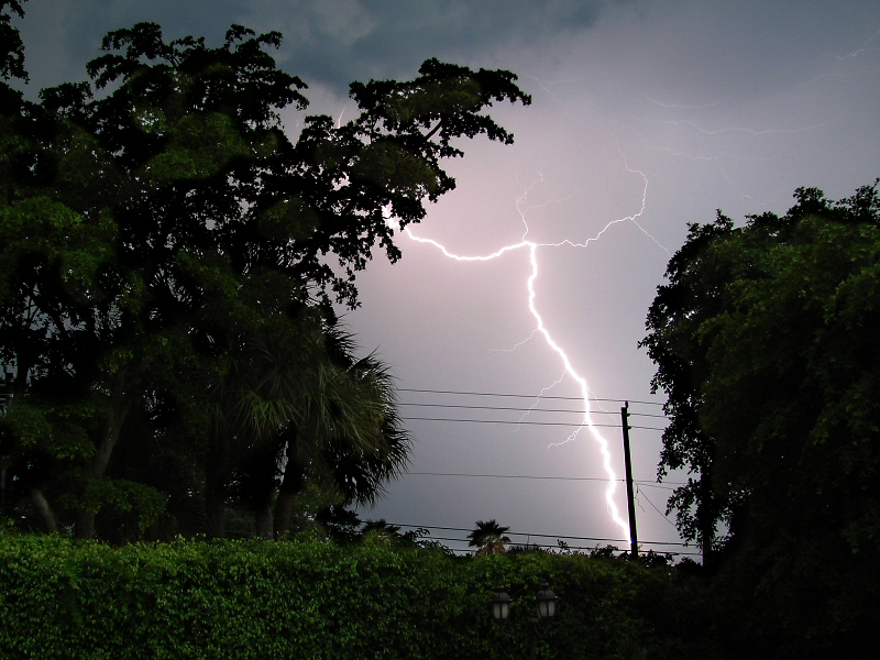 Backyard Lightning
