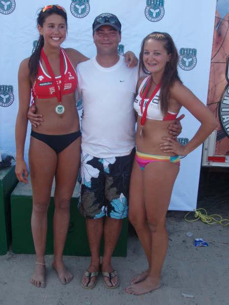 Taylor and Julia - 16U Provincial Champions