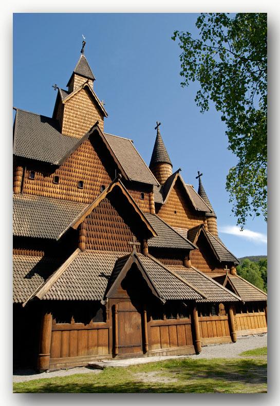 stavkyrkje Heddal Norway staafkerk
