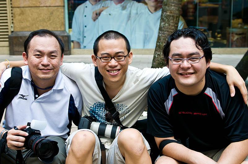 Three Shooters