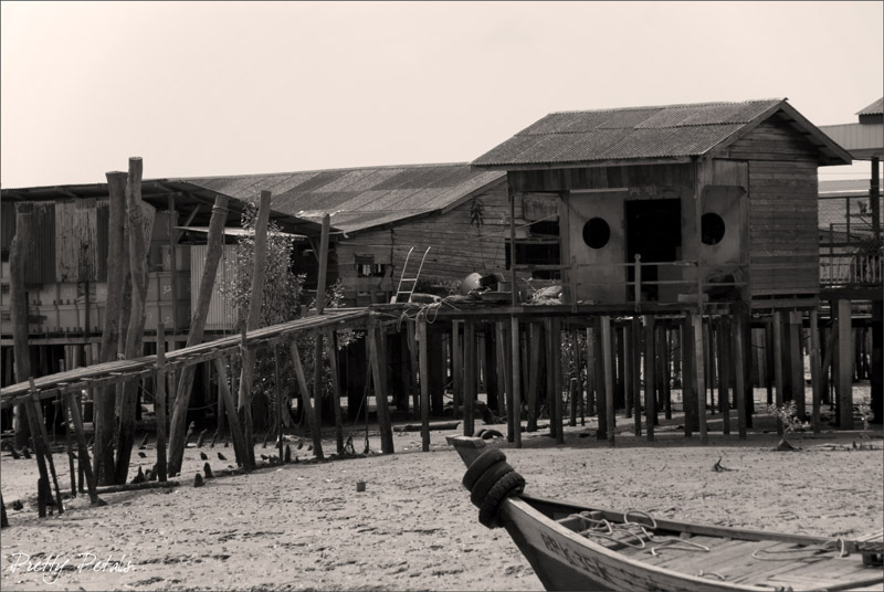 Sample Wooden Houses On Stilts