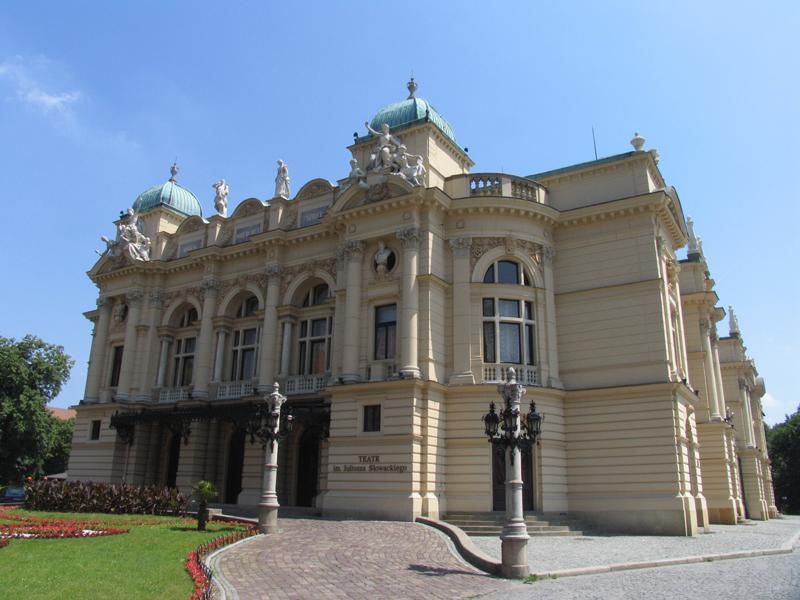 The Slowacki Theater -1