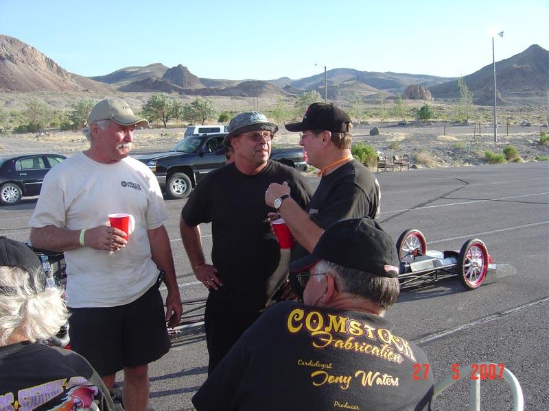 Darrell, Gary and John