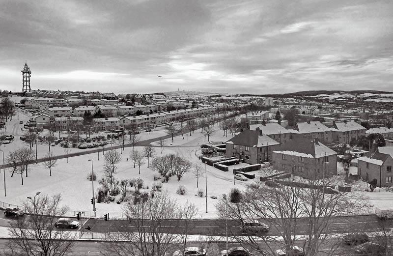 snowy Aberdeen
