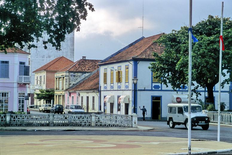 Sao Tome city...
