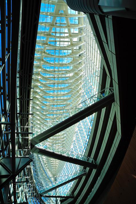Tokyo International Forum, Interior