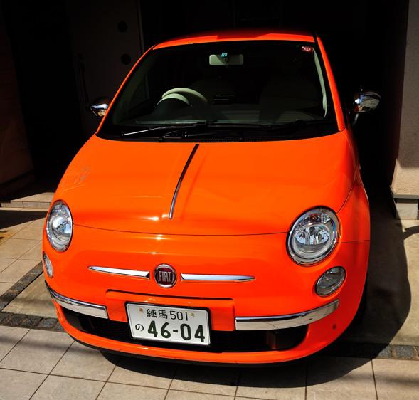 Orange Topolino