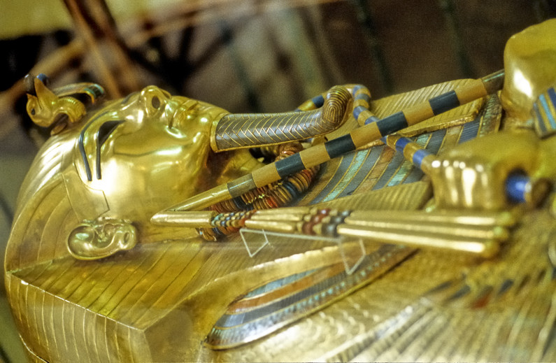 King Tut Golden Coffin