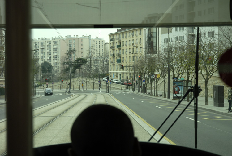March 2007 - On the Tramway - Porte dItalie 75013