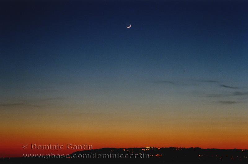 La Lune et Mercure / Moon and Mercury