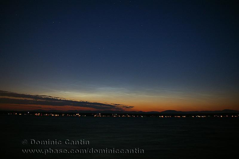 Nuages Nocturnes Lumineux / Noctilucent Clouds