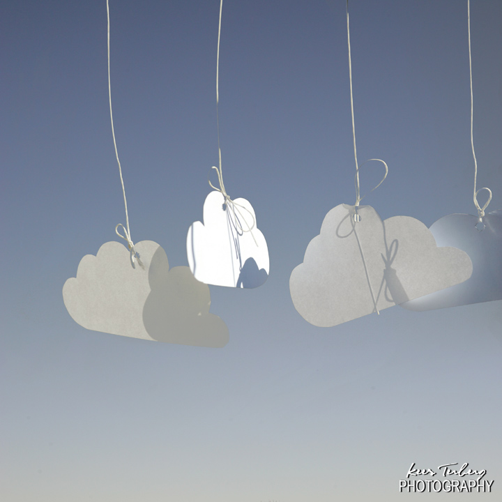 Suspended clouds