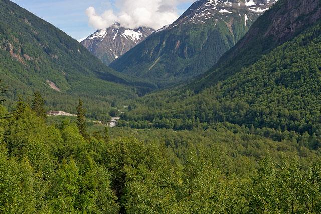 The Chilkoot Trail, from the Yukon & White Pass Railway