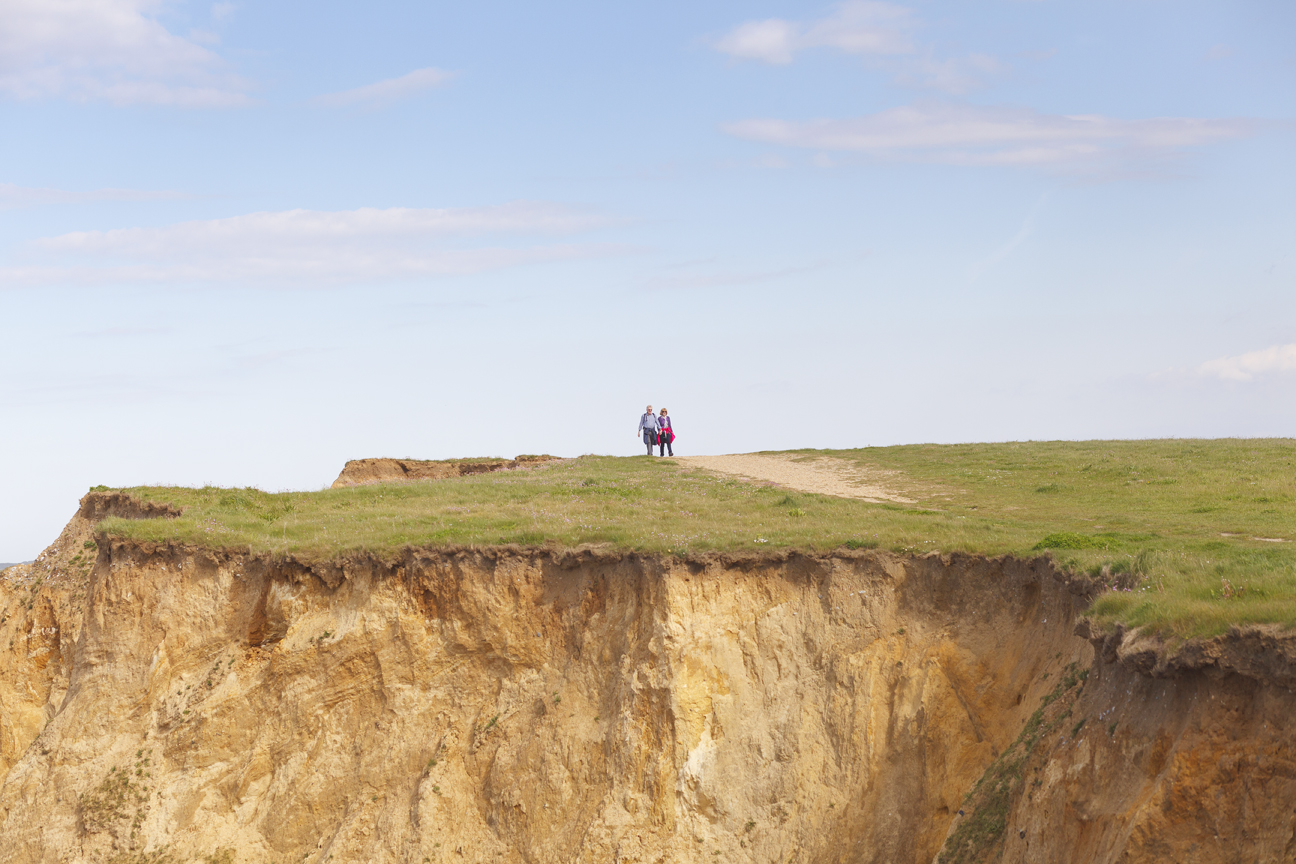 Wandering Along the Cliff