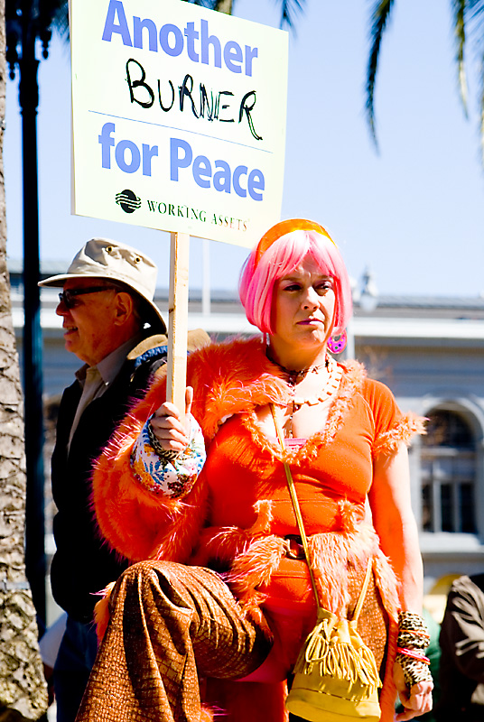 California - San Francisco - Spring 2007 Anti-War Protest