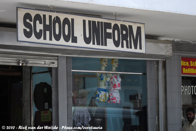 School uniforms?