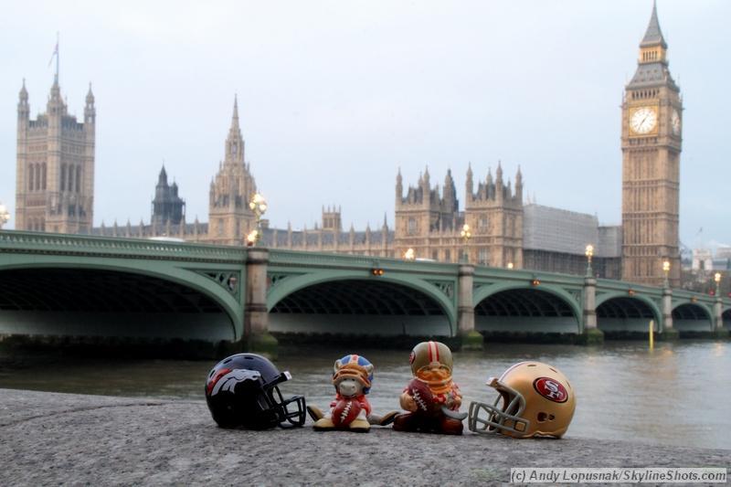 NFL Huddles: Denver vs. San Francisco in London