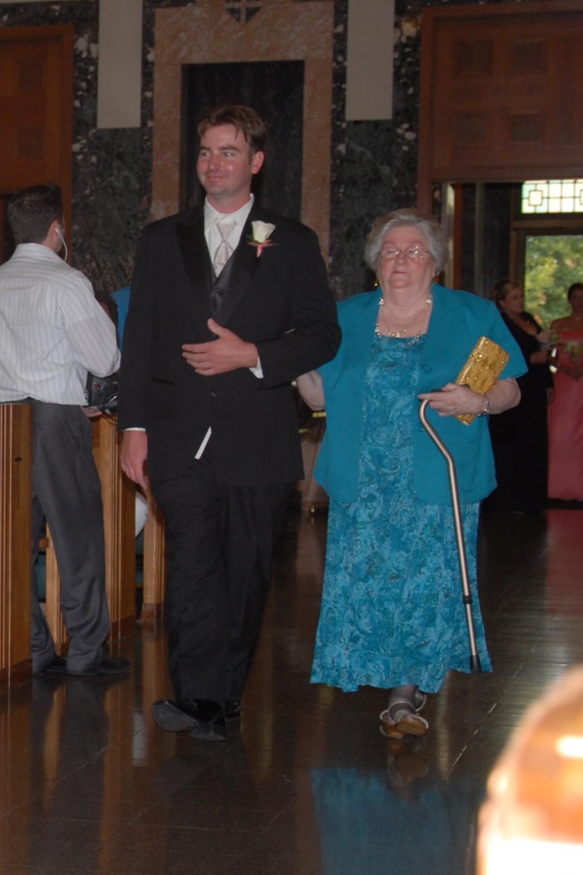 Eric and Grandma Darlene