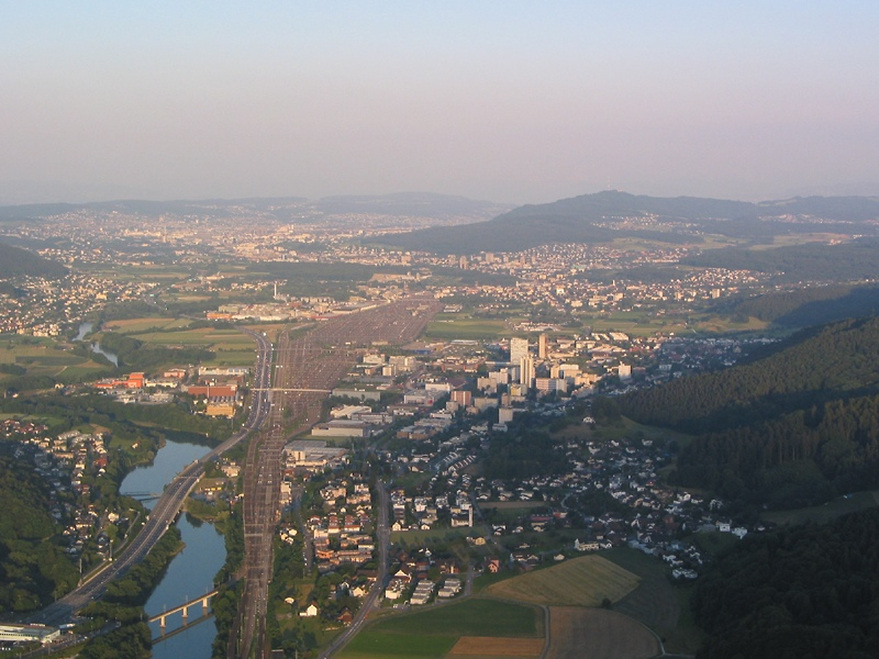 Climbing over Heitersberg