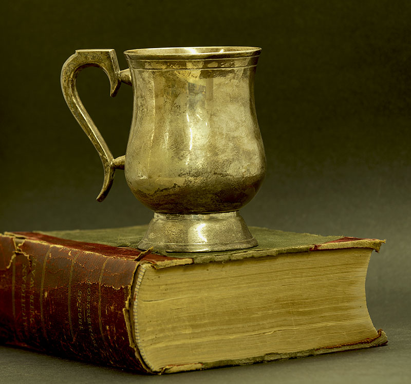 Silver Tankard - Michigan Book