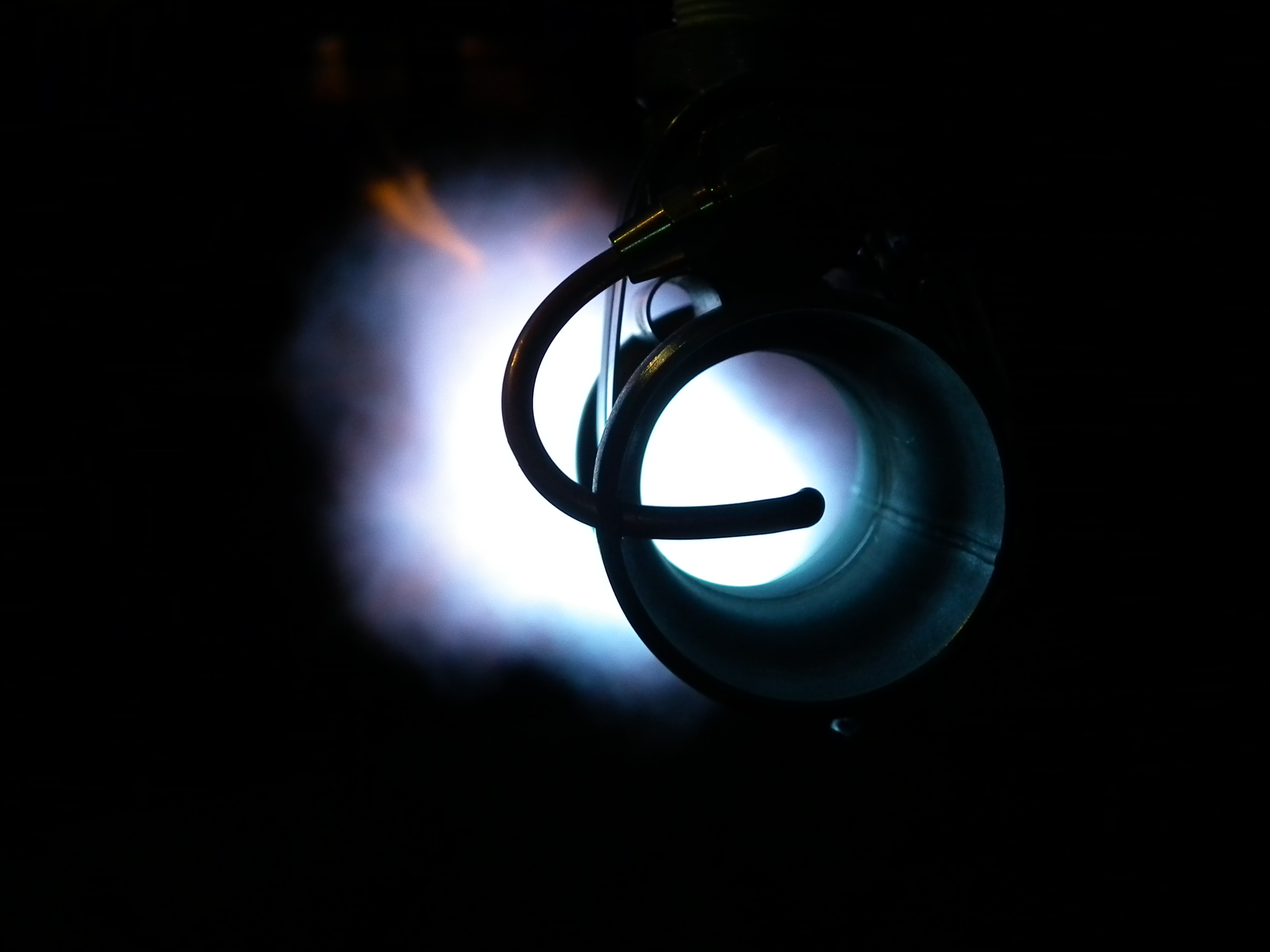 Looking Down Burner Tube.JPG