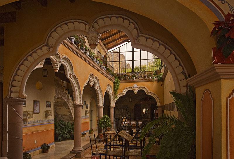 Hotel Centenario Interior