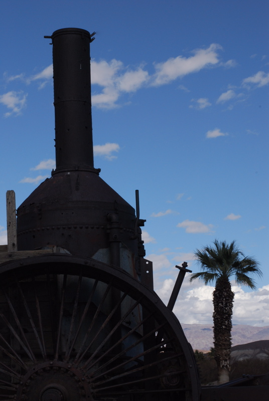 Self Propelled Steam Engine, Furnance Creek