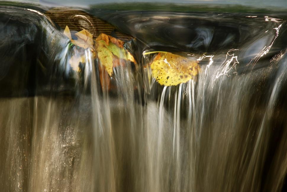 On the Brink - Big Chico Creek, Chico, California