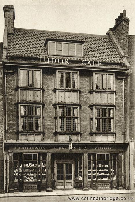 Bartons Tudor Cafe, Davygate, York