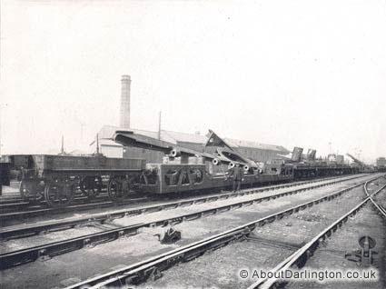Train Load of Cast Steel Sternframes