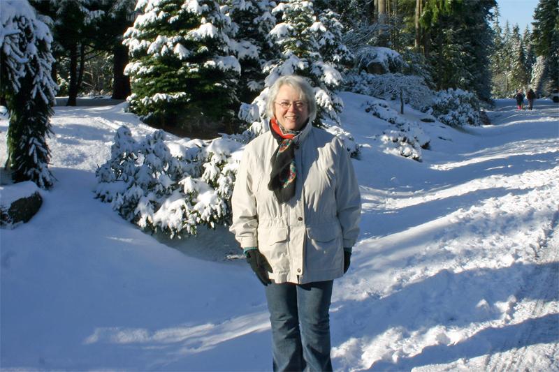 Ann in Snow