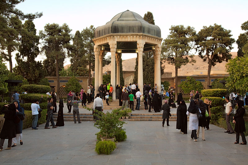 Hafezs Tomb - Shiraz