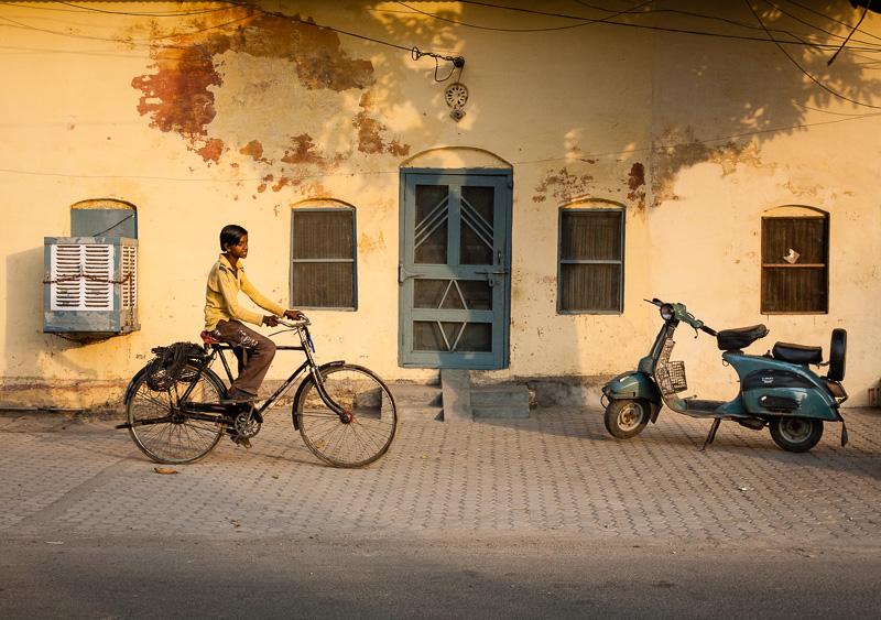 Cyclist - Kankhal