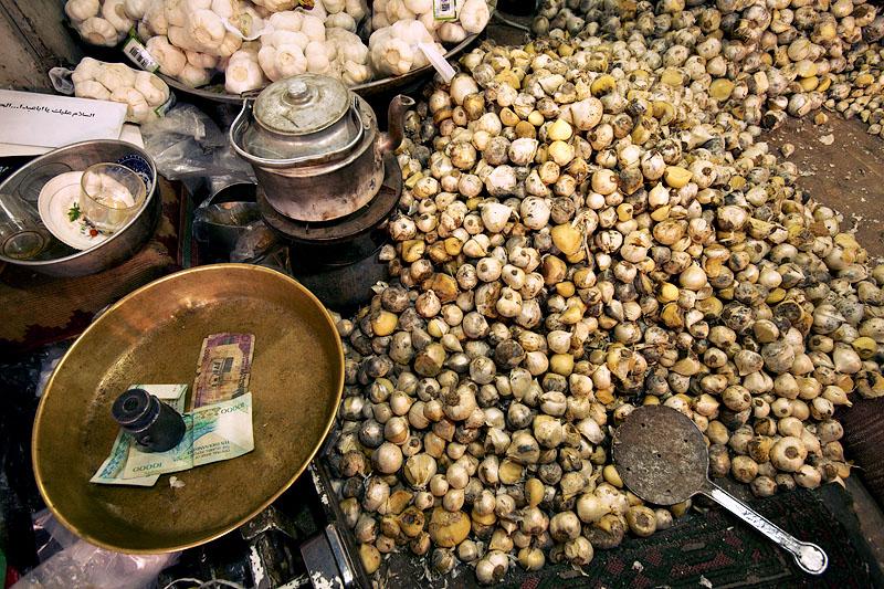 Onions and garlic - Esfahan