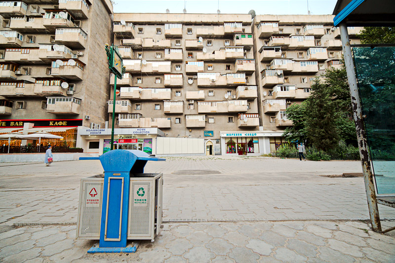 Apartment building - Dushanbe