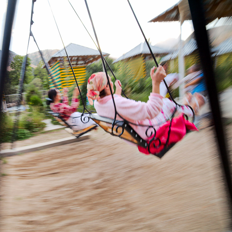 On the swing - Varzob
