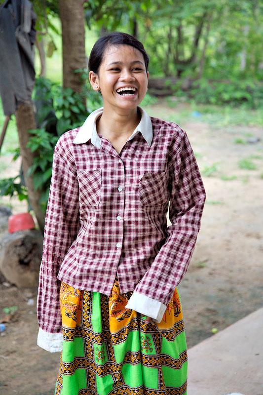 Girl - Kirirom, Cambodia