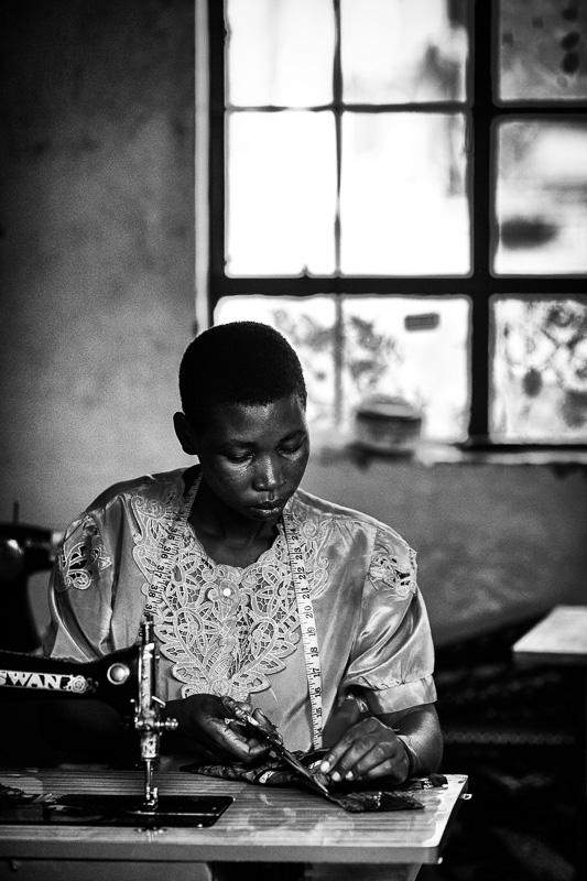 Ugandan woman - Kampala