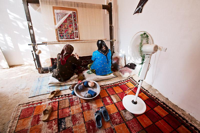 Carpet making - Kaj