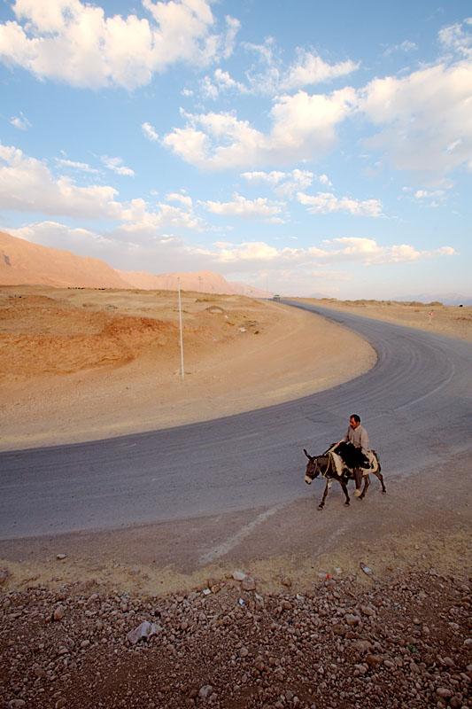 Man on donkey - Kaj